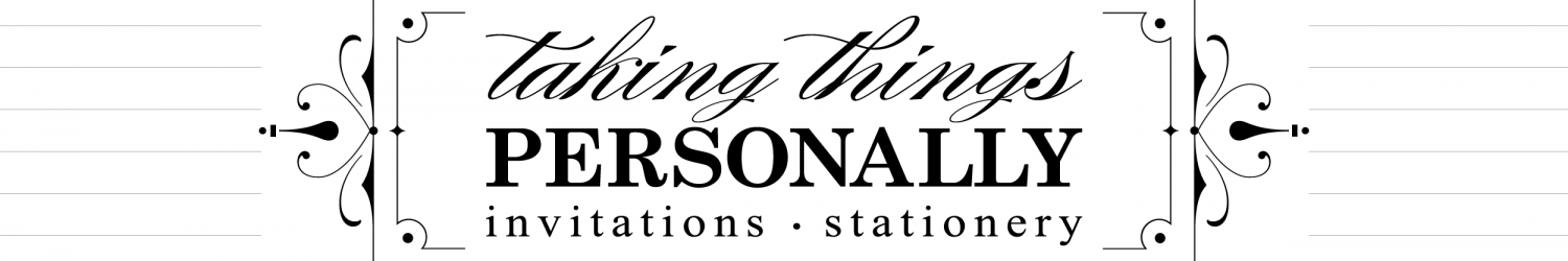 Taking Things Personally